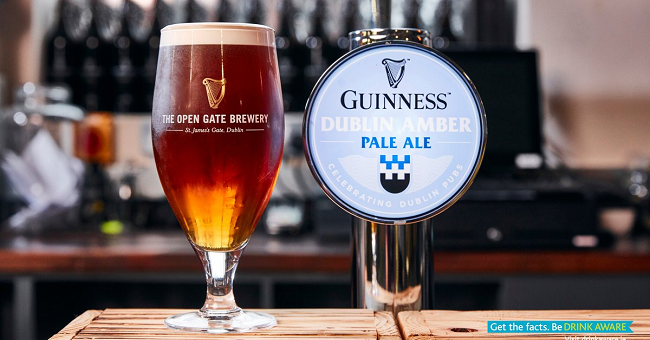 Guinness Launches Limited Edition Dublin Amber Pale Ale