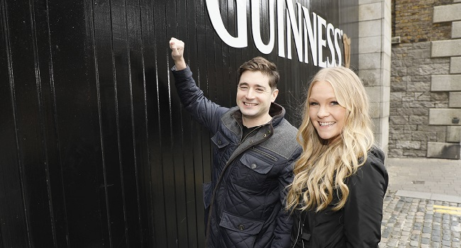 A Guinness Superfan is Handed the Keys to the Home of Guinness for A Once in A Lifetime Overnight Stay