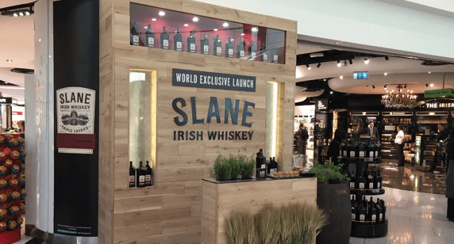 Slane Irish Whiskey just Launched and Here's Where you Can Get it