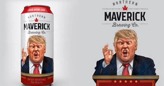 "Trump-Inspired ""Fake News Ale"" Launched by Canadian Brewery"