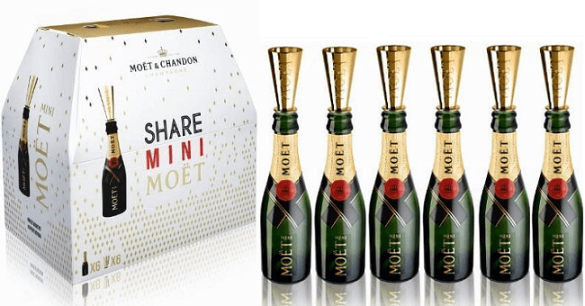 Champagne Six-Packs