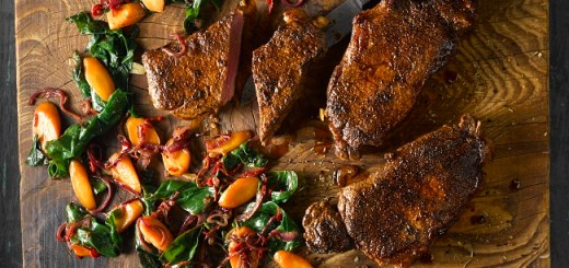 Smoked Paprika and Coriander Steak Recipe
