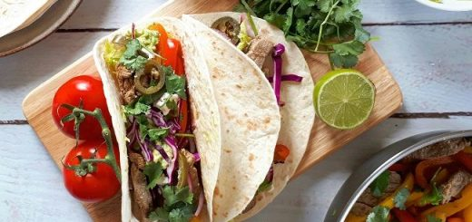 Tasty Easy Lamb Fajitas