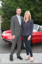 NO REPRO FEE 15/06/2017 La Dolce Vita at InterContinental Dublin Midsummer Party. Pictured last night were Keith and Fiona Cunningham as over 300 invited guests gathered at the five-star InterContinental Dublin in Ballsbridge for a La Dolce Vita-themed midsummer garden party. Guests enjoyed a feast of Italian fare and sipped on refreshing Aperol Spritzes, Prosecco and Gunpowder Gin classic Negronis, as Swing band the Irish Rat Pack entertained the crowd with their jazzy big band numbers. A 1968 Alfa Romeo Spider even made an appearance to top off the La Dolce Vita experience! Photograph: Leon Farrell / Photocall Ireland