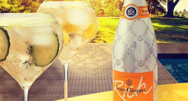 Ice, Ice Bubbly! Veuve Clicquot's New Cocktail-Inspired Champagne is All we were Waiting For