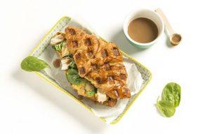 Chicken & Gravy Croffle La Petite Boulangerie by Cuisine de France