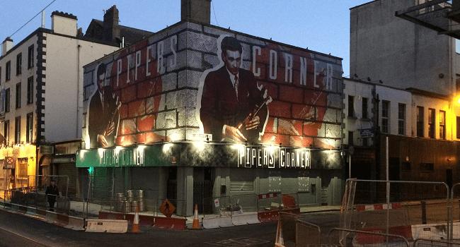 New Trad Bar Piper's Corner Has Just Opened on Marlborough Street