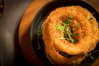 Spanish Onion Rings with spiced panko crumb-a great side dish