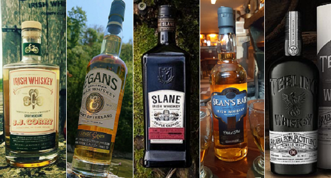 Five Recently Launched Irish Whiskeys to Keep on your Radar
