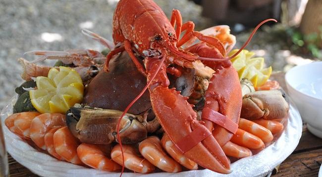 Deliveroo Seafood