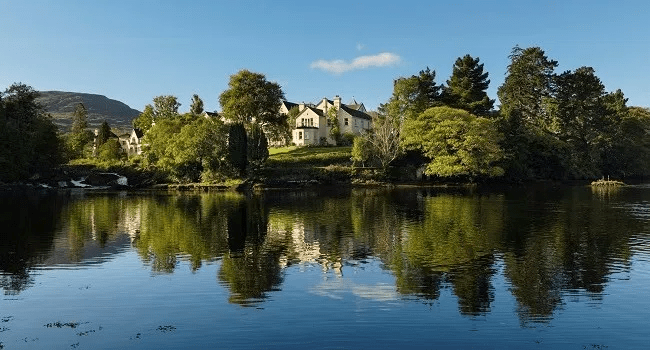 Escape to Sheen Falls Lodge for One Night this Autumn for a Fabulous Midweek Break for Two Including Award-Winning Dinner, Afternoon Tea and Spa Credit for €380