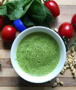 Food Dna green omelette ingredients