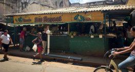 Fruit & Veg stall Havana