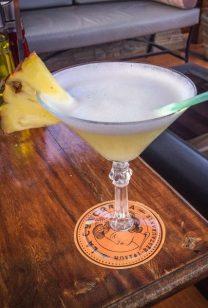 Pineapple cocktail La Concordia Havana