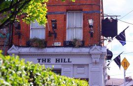 The Hill Pub Cake Champagne
