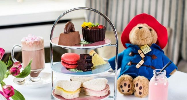 Shelbourne Paddington Bear Afternoon Tea