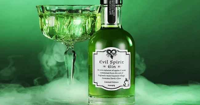 "Are you Brave Enough? This Spooky Gin Was Cursed by a ""Professional"" Witch"