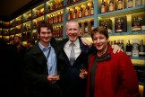 19/10/2017 - Walsh Whiskey Launch at L. Mulligan's Whiskey Shop at the Powerscourt Centre. Pictured were Finan O'Connor with Bernard Walsh and William Murphy. Photograph Nick Bradshaw