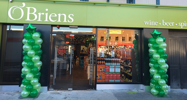 O'Briens Wine Newest Shop Opens Today in Stillorgan