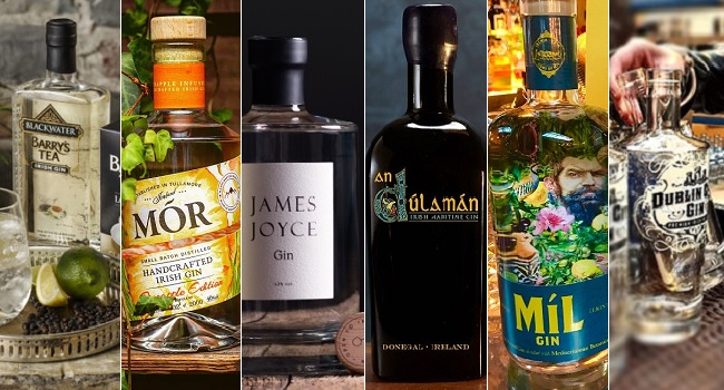 Looking for Ginspiration? Here are Six New Irish Gins you Need to Try Now