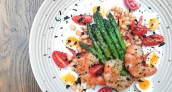 Garlic and Seaweed Marinated Prawns Recipe 1