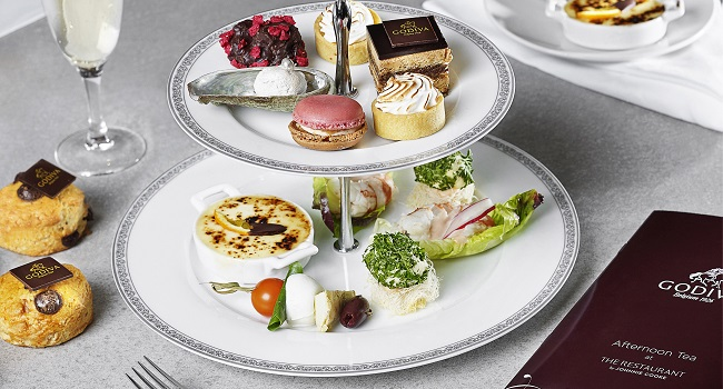 Godiva Chocolate Afternoon Tea