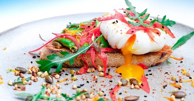 Poached egg & toast recipe