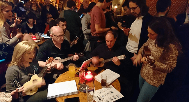 This Quirky Night Out in Town is Just the Greatest Craic you Can Have on a Tuesday | Ukulele Tuesday