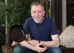 Paull Harrington who was revealed asone of this years celebrities who will be donning and apron for the brand new series of TV3s˜The Restaurant which will commence on the 21st February at 9pm Picture Brian McEvoy Photography No Repro fee for one use