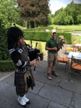 Dromoland bag pipes