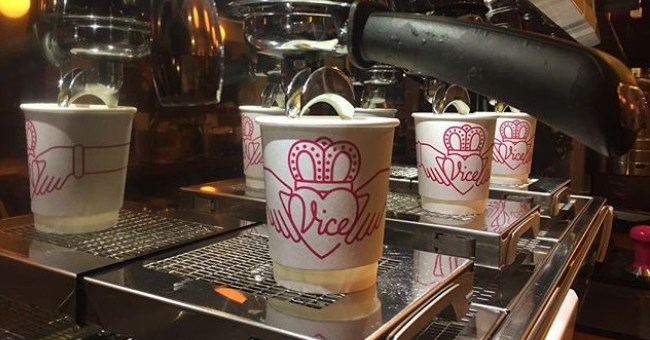 A Seriously Cool Spot to Get your Caffeine Fix - Vice Coffee Inc Review