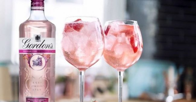 Delicious Pink Gin