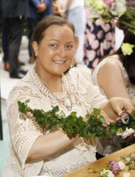 Gail O'Connor at the launch of Siúcra's new summer recipes by chef Catherine Fulvio held at the Woolen Mills Dublin.photo Kieran Harnett no repro fee