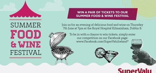 SuperValu Summer Food & WIne Festival Taste advert 650px_x_350px