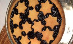 A plum dessert she made Jim Italy