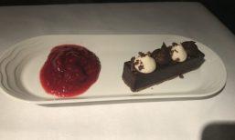 Emirates Business Class Chocolate Cake