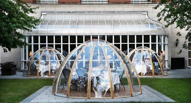 InterContinental Dublin Garden Pods