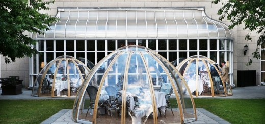 InterContinental Dublin Garden Pods