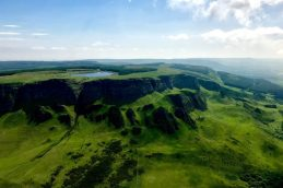Northern Ireland Helicopter Ride Views