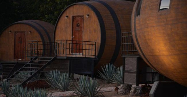 Rustic Barrel Hotel