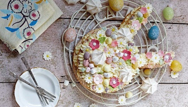 Bunny Ears Cream Tart Recipe By Siúcra x Catherine Fulvio
