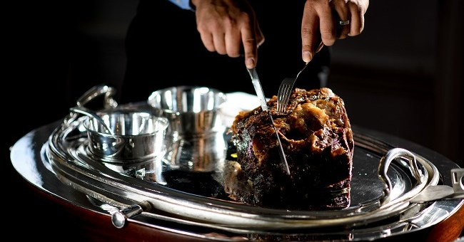 Roast Rib of Beef Recipe by Sean Smith at Cliff Townhouse