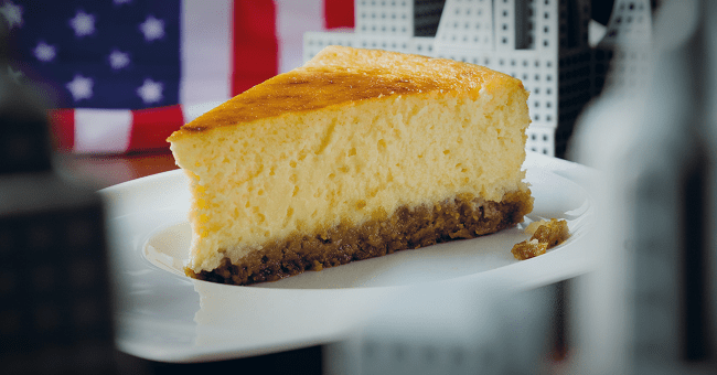 Classic Baked New York Cheesecake Recipe By Simon Delaney