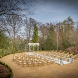 Druids Glen 'The Woodland' Outdoor Ceremony with Acrylic Gazebo