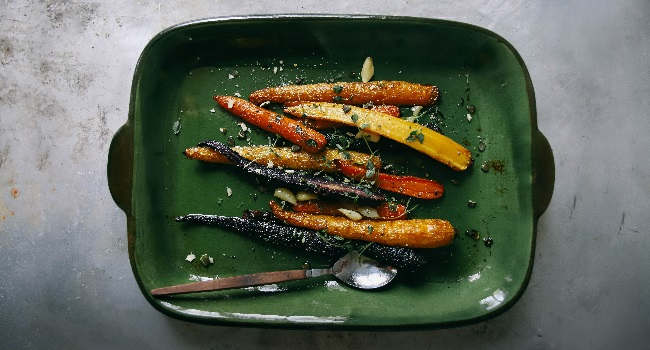 Maple & Hazelnut Glazed Carrots Recipe By Chef Jeeny Maltese