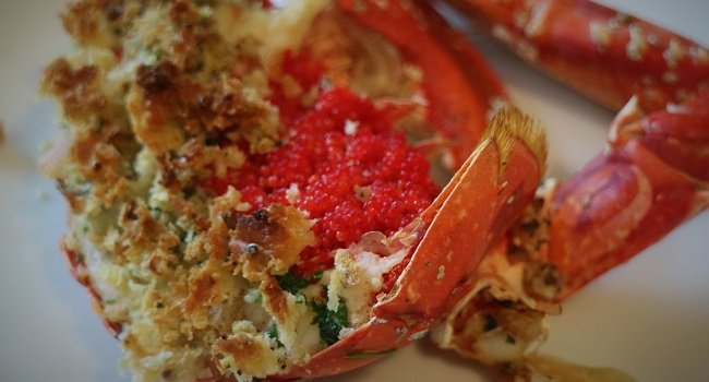 Crispy Garlic & Panko Breaded Lobster Recipe By Chef Jeeny Maltese