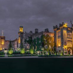 3. Cabra Castle - Exterior (Night)