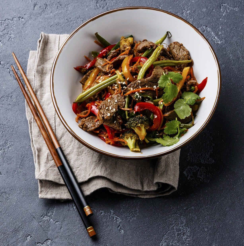 Szechuan Beef Stir Fry Recipe from Chef Kwanghi Chan