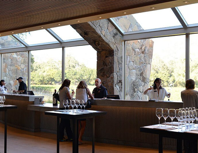 Stags Leap cellar Napa winery tasting room