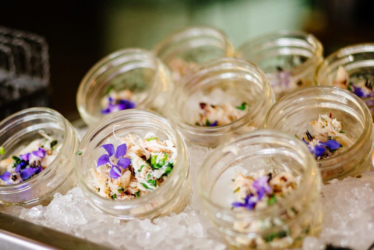 Thai Crab Gelee Salad at Saturday Farmers Market Brunch at Navio The Ritz-Carlton Half Moon Bay